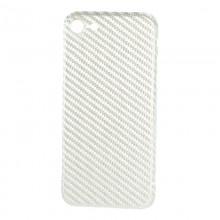 Husa de Carbon NEVOX pentru Apple iPhone 8, White