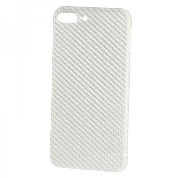Husa de Carbon NEVOX pentru Apple iPhone 8 Plus, White