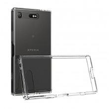 Husa de protectie slim CYOO Sony Xperia XZ1, (bulk), Clear