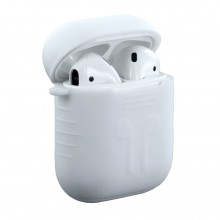 Husa Sport Silicon Apple AirPods white