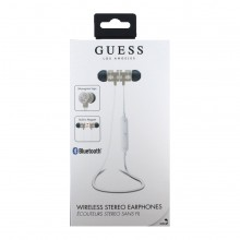 Casti audio in-ear Guess, Wirelesse, Bluetooth, Magnetic, Gold