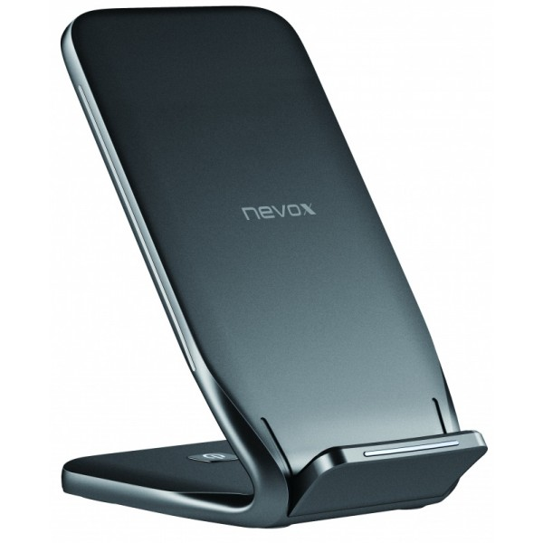 Stand de Incarcare wireless fast charge Qi NEVOX 10W Black