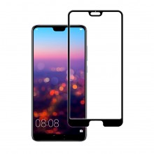 Folie protectie sticla 5D Full Cover Huawei P20 Pro Black