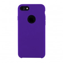 Husa Premium Liquid Silicon iPhone 7 / 8 Purple