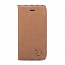 Husa de piele iPhone SE/5s/5 JT Berlin Book Magic Cognac