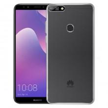 Husa Ultra Soft TPU pentru Huawei Y7 2018 AKASHI Clear