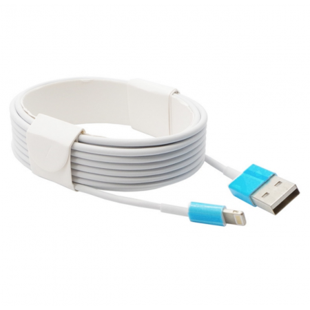 Cablu de date/incarcare Apple Lightning to USB 3m White