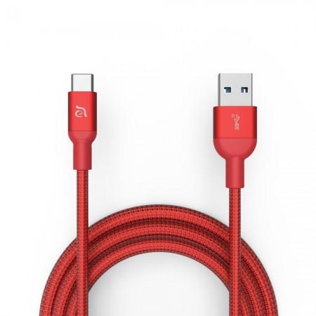 Cablu 1m Adam Elements CASA M100+ USB3.1 Gen2, 10Gbps, Red
