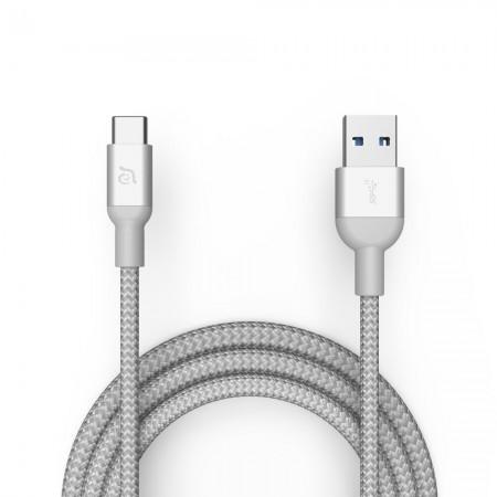 Cablu 1m Adam Elements CASA M100+ USB3.1 Gen2, 10Gbps, Silver