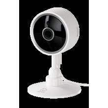 Camera supraveghere smart DELTACO, pentru interior, 1080p, WiFi 2,4 GHz, IR 10m, 1/4 CMOS, microSD, alb