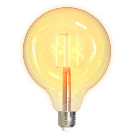 Bec inteligent cu filament LED - DELTACO SMART HOME G125, E27, WiFI 2.4GHz, 5.5W, 470lm, reglaj continuu, 1800K-6500K, 220-240V