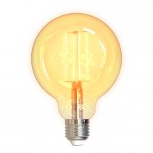 Bec inteligent cu filament LED - DELTACO SMART HOME G95, E27, WiFi 2.4GHz, 5.5W, 470lm, reglaj continuu, 1800K-6500K, 220-240V