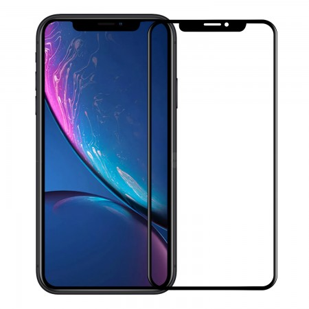 Folie de sticla full screen 3D AKASHI TEMPERED GLASS pentru Apple iPhone 11