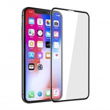 Folie de sticla securizata 5D Full Screen Apple iPhone XS MAX Black