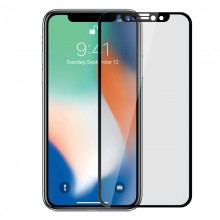 Folie de protectie iPhone Xs Max full screen 3D AKASHI Black