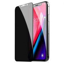Folie de sticla Privacy Apple iPhone Xs Max 5D CYOO Black