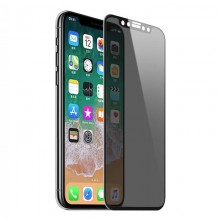 Folie de sticla Privacy 5D CYOO Apple iPhone Xs/X Black