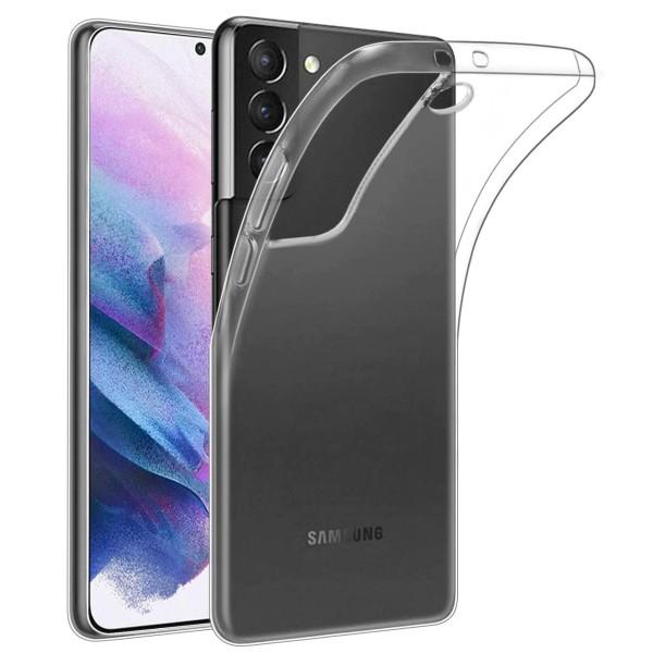 Husa slim de silicon NEVOX StyleShell Flex pentru Samsung Galaxy S21 Plus, Transparent