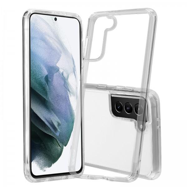 Husa de protectie Nevox StyleShell ShockFlex pentru Samsung Galaxy S21, Transparent