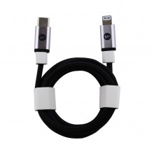 Cablu Mophie USB-C to Lightning pentru- Apple iPhone 12, 12 Pro, 12mini, 12 Pro Max, 11, 11 Pro, 11 Pro Max, negru