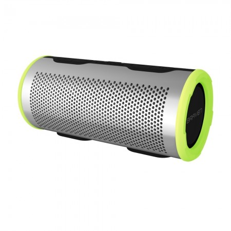 Boxa portabila Bluetooth BRAVEN Stryde 360 Active Series IP67 cu power bank 4400mAh si microfon, silver/green