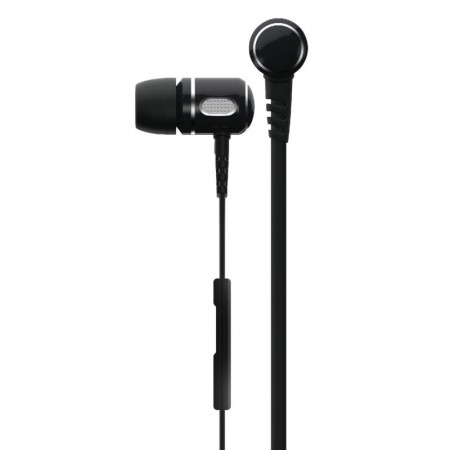 Casti audio wireless In-ear Qnect Q17 BT, cu microfon integrat - negru