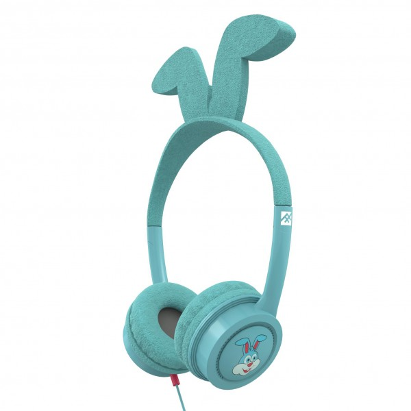 Casti audio copii iFrogz Little Rockerz Costume Bunny