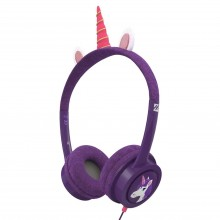 Casti audio copii iFrogz Little Rockerz Costume Unicorn
