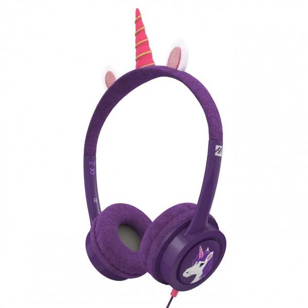 Casti audio copii iFrogz Little Rockerz Costume Unicorn