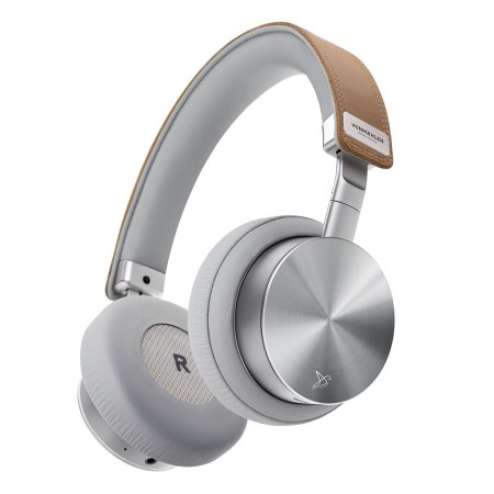 Casti Wireless Vonmahlen Concert One Aluminium/ Piele, Bluetooth On-Ear, Silver