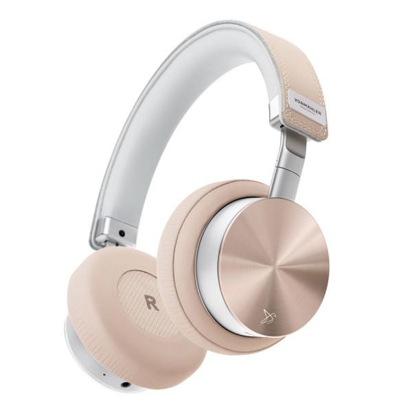 Casti Wireless Vonmahlen Concert One Aluminium/ Piele, Bluetooth On-Ear, Roz