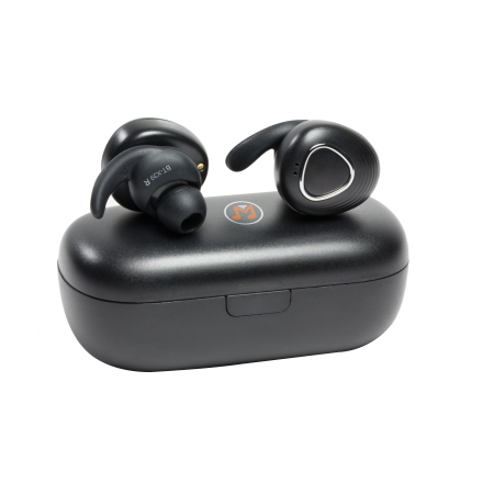 Casti Bluetooth Technaxx MusicMan In-ear BT-X39, IPX4, stereo, microfon, negru