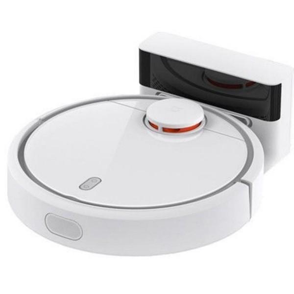 Robot aspirare Xiaomi Mi Robot Vacuum, 50 W, 5200 mAh, 14.4 V, App, Smart Vision Mapping, Alb