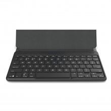 Tastatura iluminata universala ZAGG Flex, cu stand detasabil si husa, Black