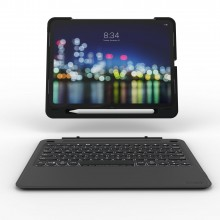"Tastatura iluminata ZAGG Slim Book Go pentru Apple iPad Pro 11"" Black"