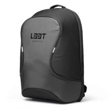 "Rucsac laptop waterproof L33T GAMING, 15,6"", nylon, buzunar antifurt, negru"