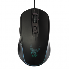 Mouse de gaming RGB programabil L33T TYRFING, 6 butoane, 10.000 dpi, negru