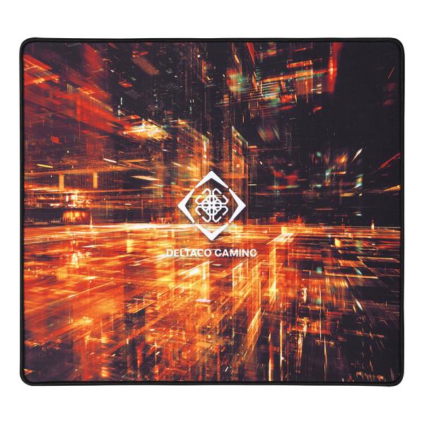 Mousepad de gaming DELTACO GAMING L Special Edition, 450x400x4mm, margini cusute, suprafata de panza