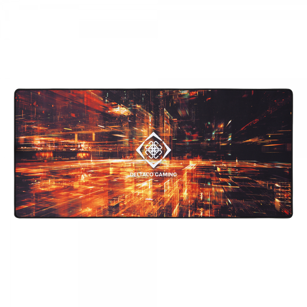Mousepad de gaming DELTACO GAMING XL Special Edition, 900x400x4mm, margini cusute, suprafata de panza