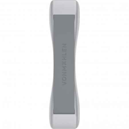 Suport de mana pentru telefon Vonmahlen Backbone Signature, Argintiu