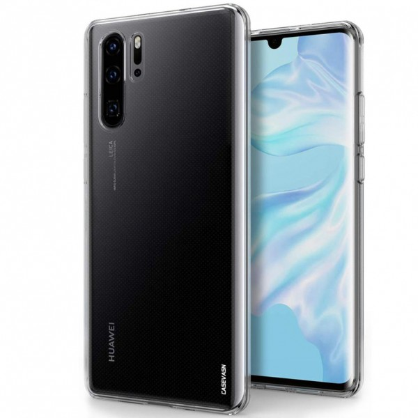 Husa Ultra Soft Silicon Huawei P30 Pro Transparent