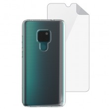 Husa + folie de sticla Skech Matrix SE Huawei Mate 20 Clear