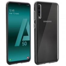 Husa AKASHI Ultra Soft TPU Samsung Galaxy A50 Transparent