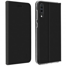 Husa book Samsung Galaxy A70 AKASHI Black
