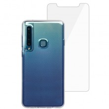 Husa + folie de sticla Skech Matrix SE Samsung Galaxy A9 (2018) Clear