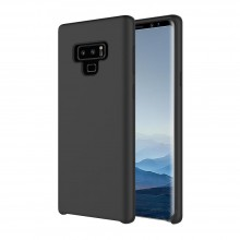 Husa Premium Liquid Silicon Samsung Galaxy Note 9 Black