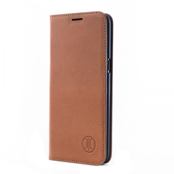 Husa de piele Samsung Galaxy S10 JT Berlin Book Magic Cognac