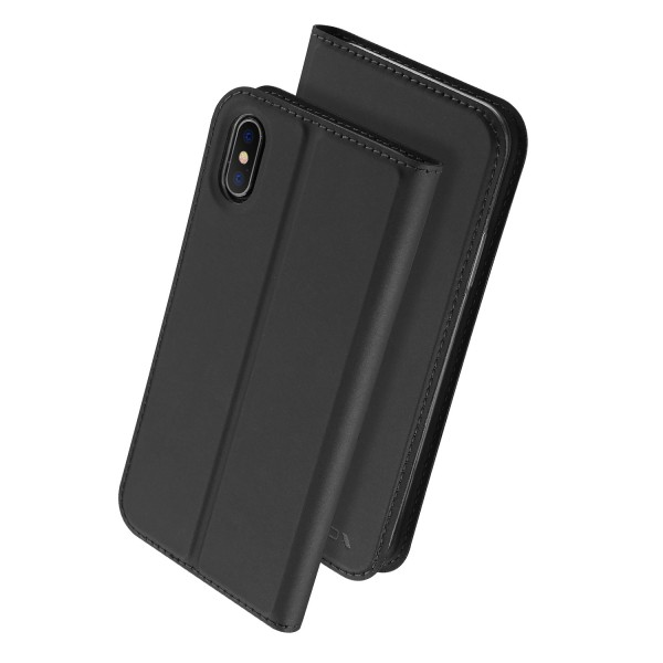 Husa book Nevox Vario Apple iPhone Xs/X Basalt Grey