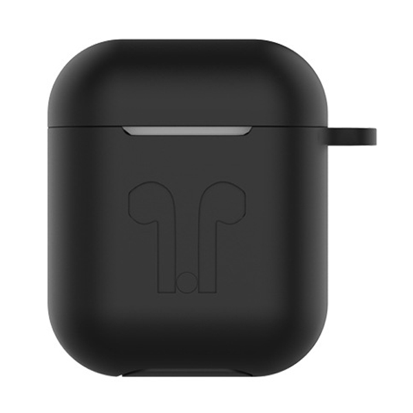 Husa Sport Silicon 6in1 Apple AirPods + accesorii, black