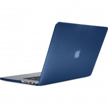 Carcasa fata/ spate INCASE Hardshell Apple MacBook Pro (Retina) 13 inch blue moon